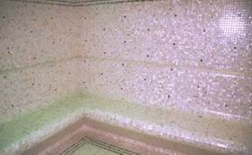 Mother of Pearl Shell Mosaic Hammam Project