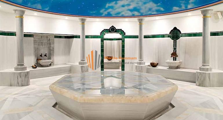 Marble Hamam Project