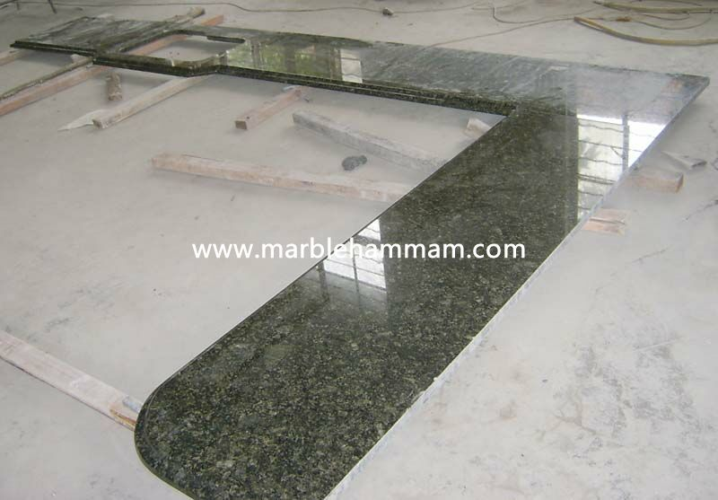 Custom Countertop Copper Peach Granite